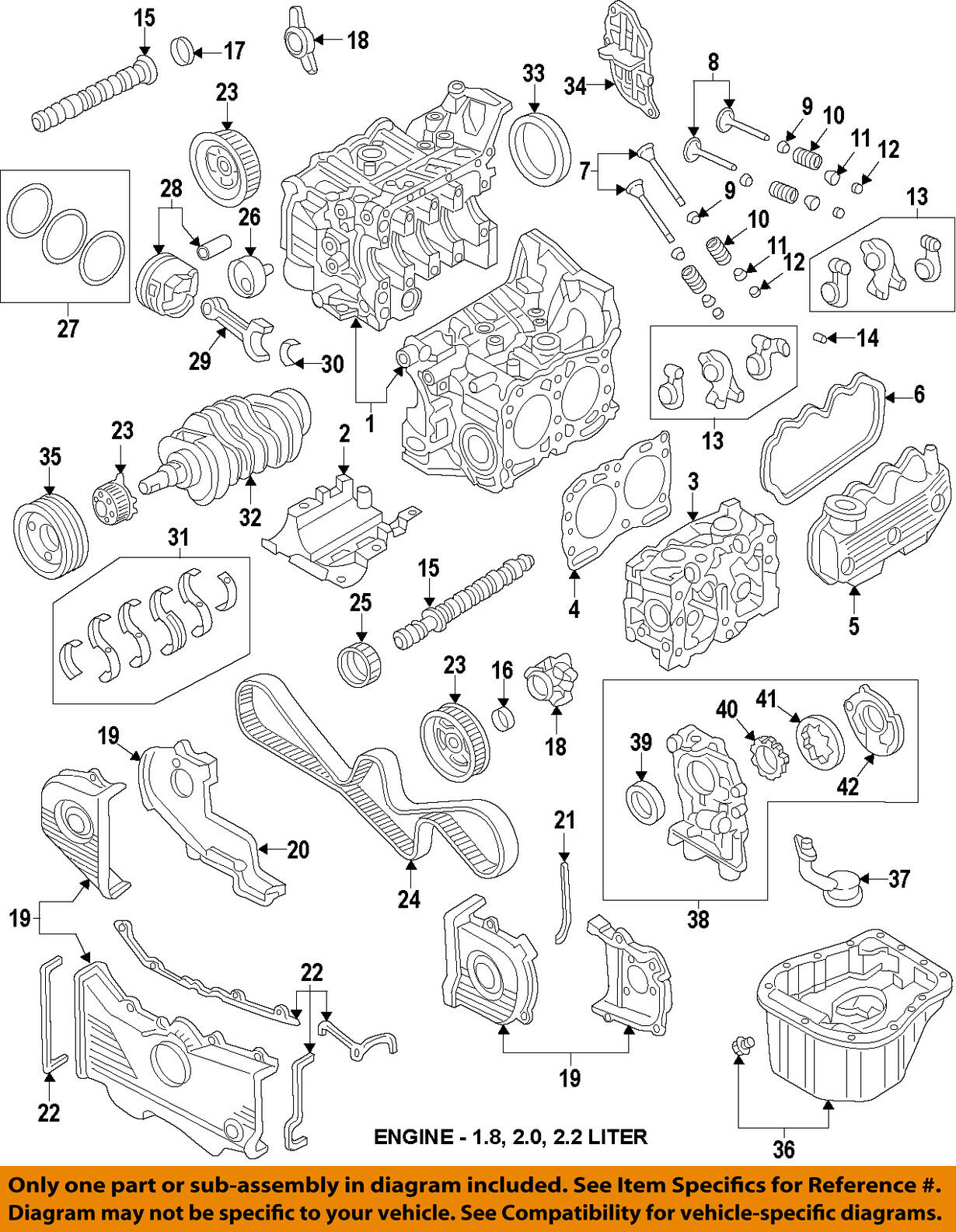 Subaru Oem 96 99 Legacy Engine Oil Pick Up Tube 15050aa050 3668 1995 Diagram 1 Of 1only 2 Available