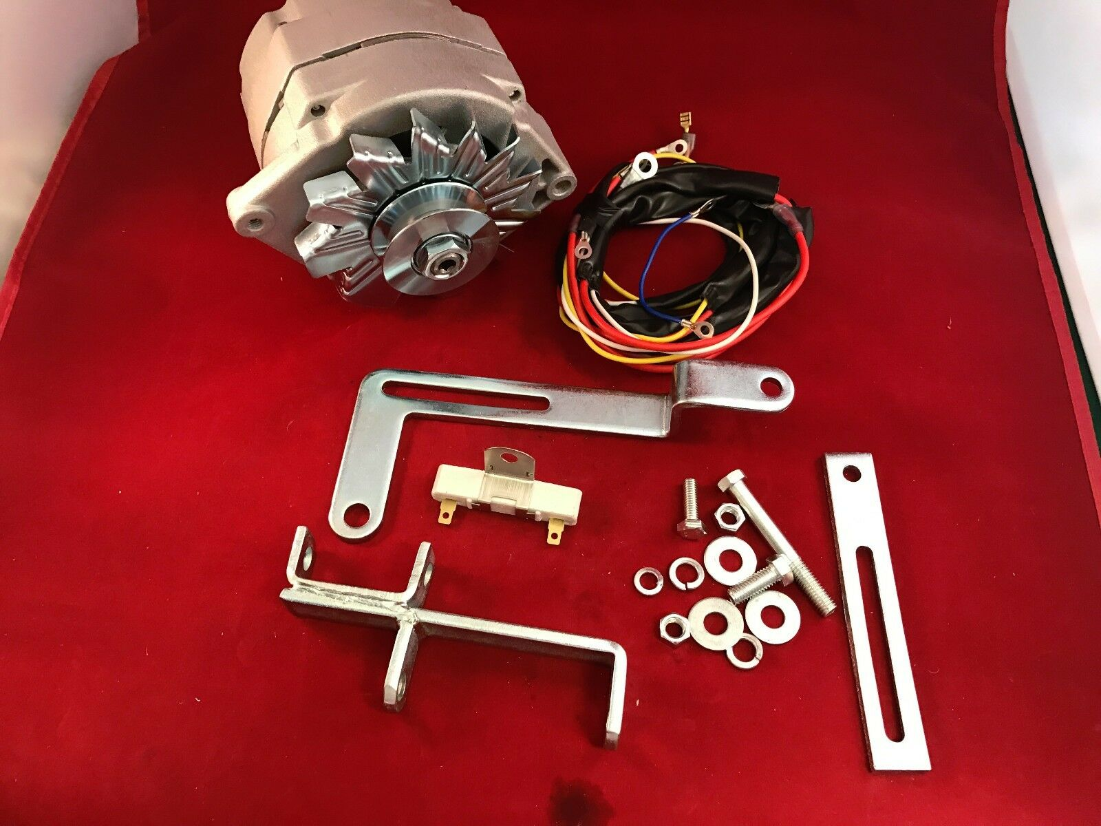 1950 1952 Ford 8n Alternator Generator Conversion Kit 6 To 12 Volt Wiring Diagram Restoration And Repair Tips Battery 1 Of 8free Shipping