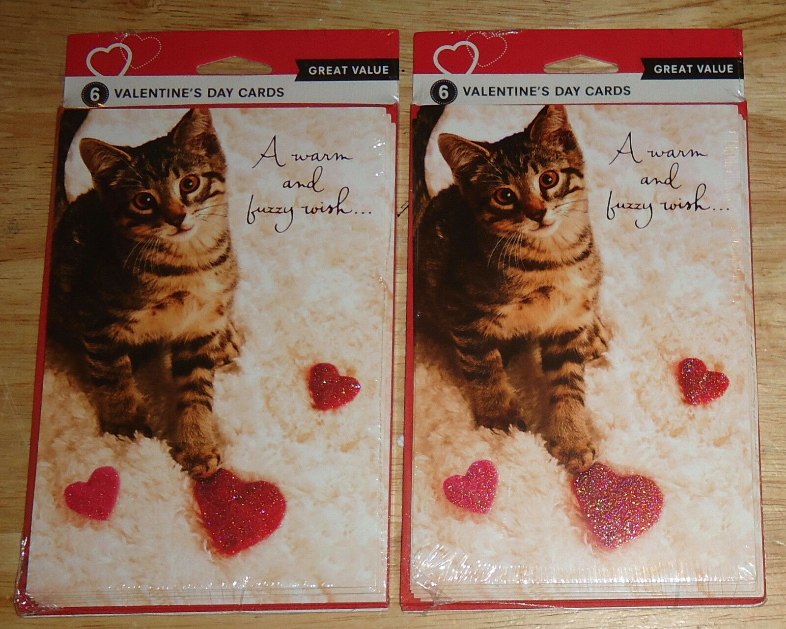 12 American Greetings Valentinevalentines Card Catcats A Warm And