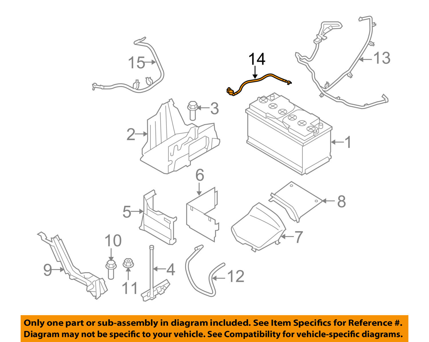 Volvo Battery Diagram Electrical Wiring Diagrams 1995 960 Oem 07 15 S80 Negative Cable 30773672 57 54 Picclick