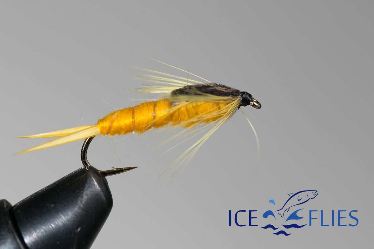 ICE FLIES Nymph Langskeggur . 4-pack Available in size 8-14