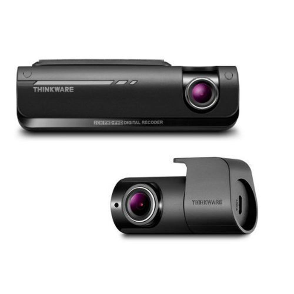 how to connect rear dash cam to front cam