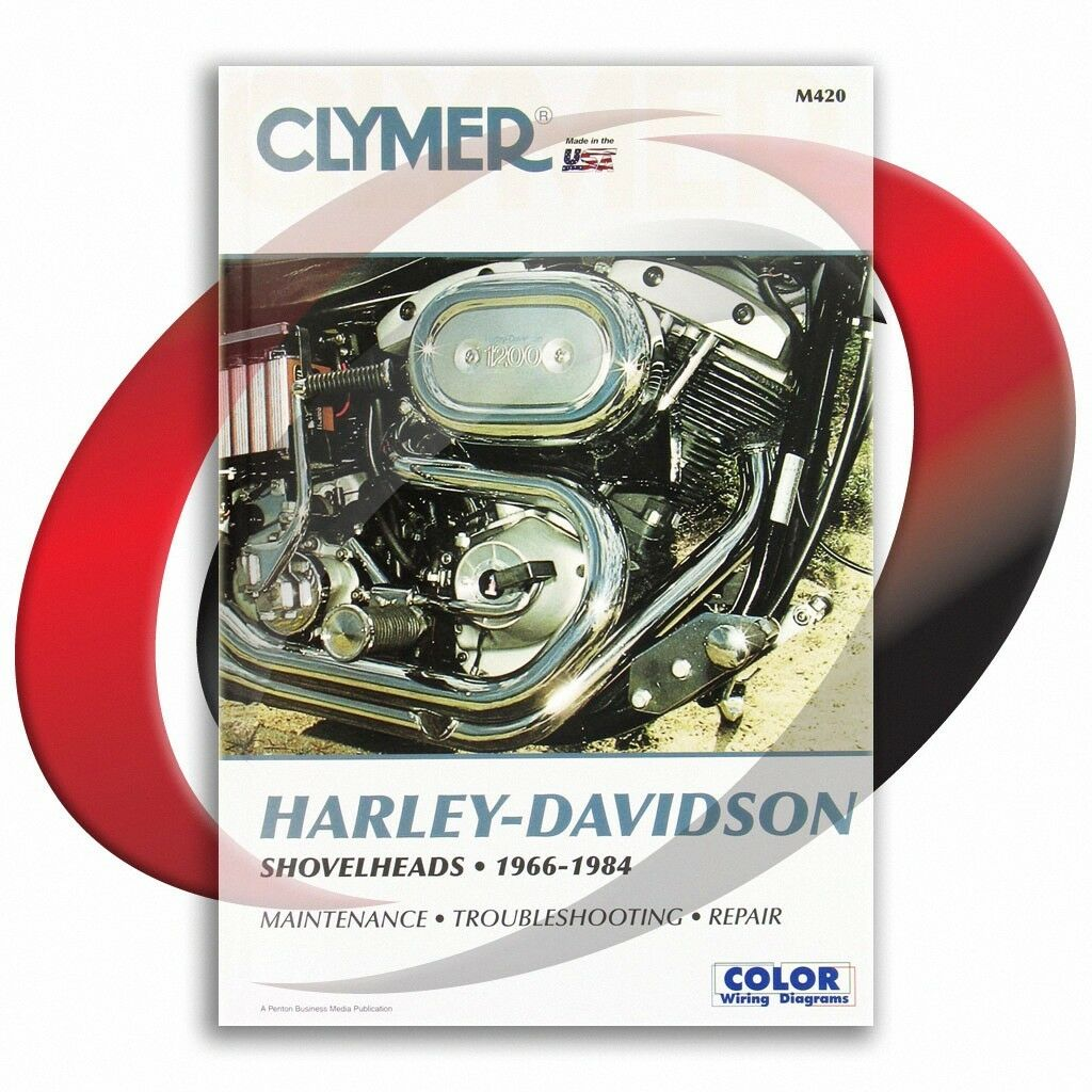 1974 1984 Harley Davidson Fxe Shovelhead Repair Manual Clymer M420 77 Ironhead Sportster Xl Wiring Diagram Service Shop 1 Of 4only 2 Available See More