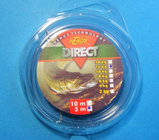 1,80€/METER) Hends Direct Fly Pike Wire / Stahlvorfach - EUR 7,50 ...
