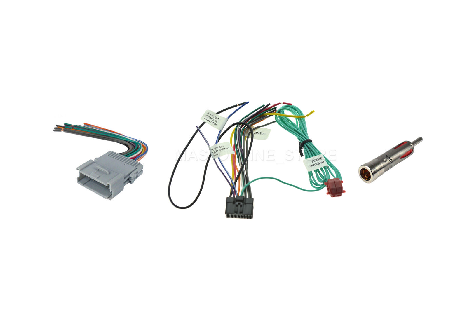 Chevrolet Car Stereo Wiring Harness Wire Pioneer Avh X1500dvd Radio For 1 Of 1only 5 Available