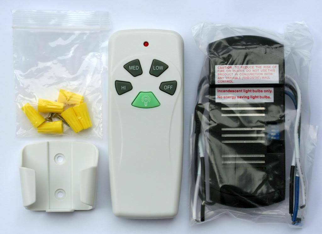 Harbor Breeze 43147 Ceiling Fan Light Remote Control Kit New Universal 1 Of See More