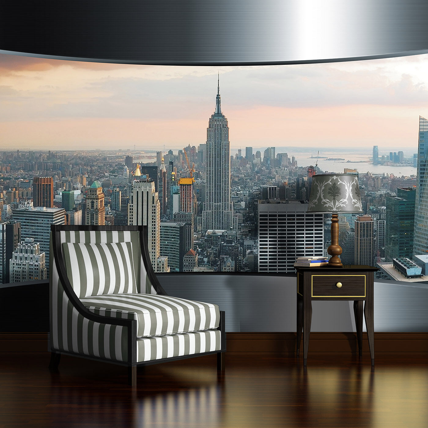 vlies tapete fototapeten tapeten wand manhattan new york metropole 14n2205vexxxl eur 22 90. Black Bedroom Furniture Sets. Home Design Ideas