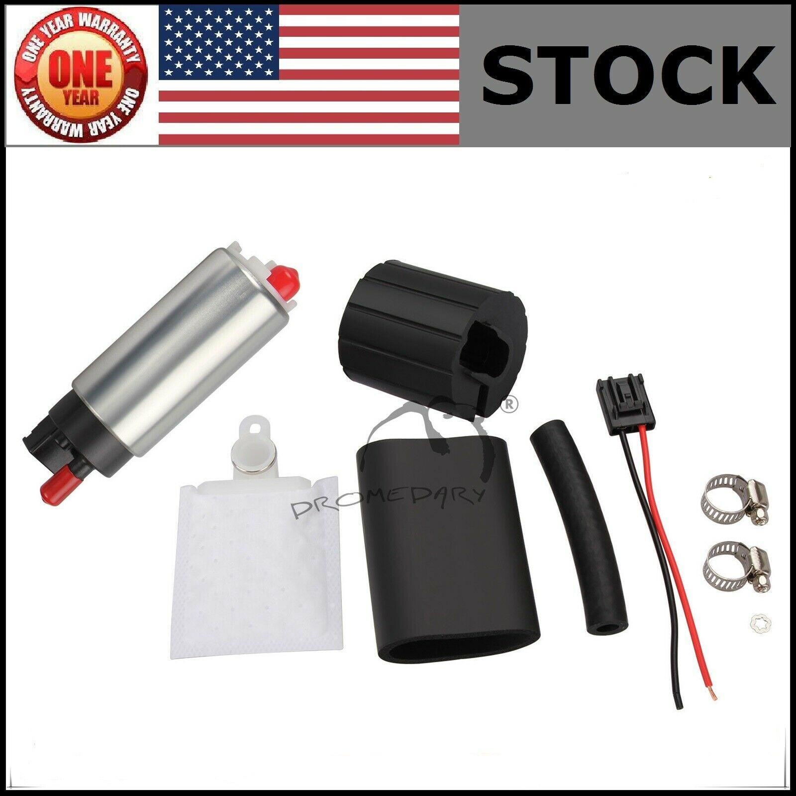 New 255lph High Performance Fuel Pump Kit For Honda Accord Civic 1 Of 1free Shipping