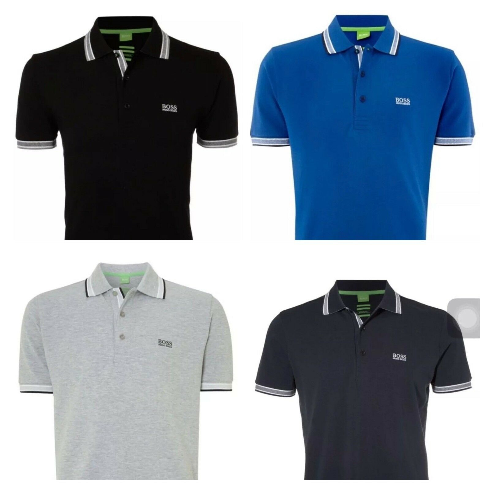 Mens hugo boss short sleeve polo t shirts eur 16 77 for Hugo boss polo shirts xxl