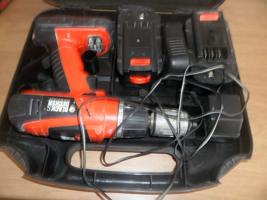 how to use black and decker hammer drill