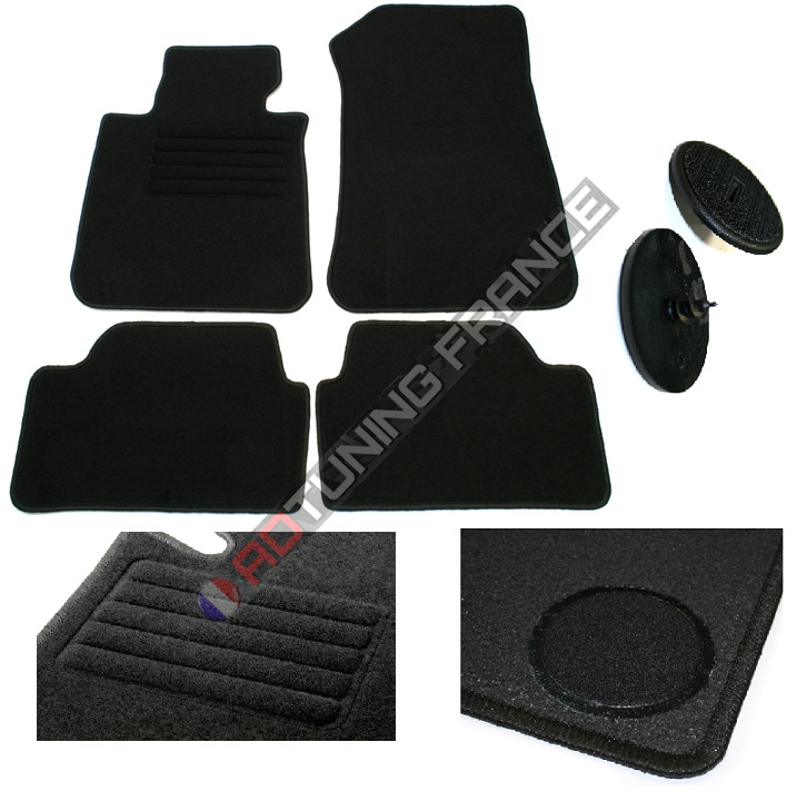 4 tapis de sol velours sur mesure bmw serie 1 e87 5 portes de 09 2004 a 08 2011 eur 38 00. Black Bedroom Furniture Sets. Home Design Ideas