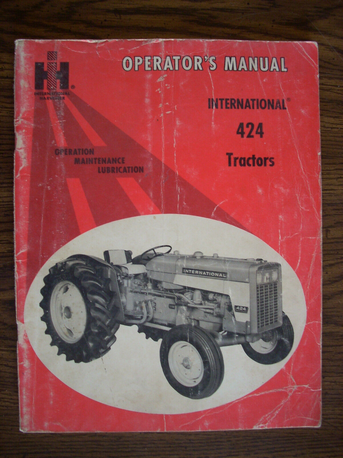 IH Farmall Mccormick International 424 Owners Manual 1 of 1Only 1 available  ...