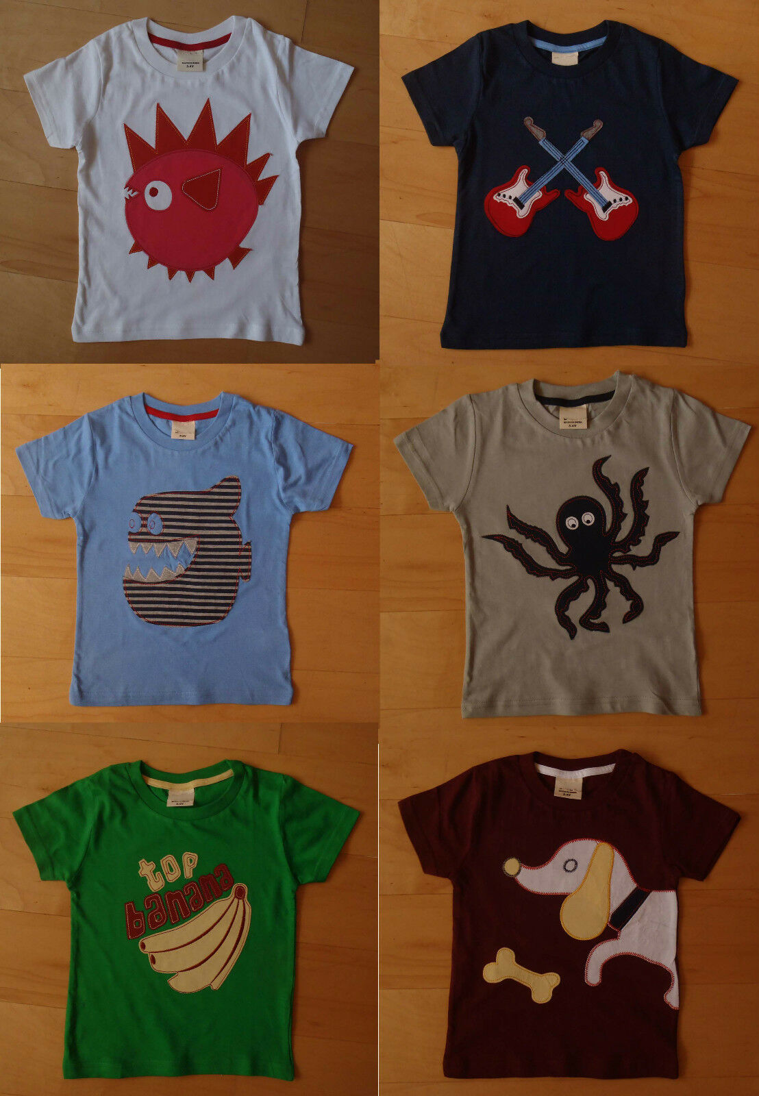Boys top ex mini boden t shirt 5 6 7 years new sizing for Mini boden germany