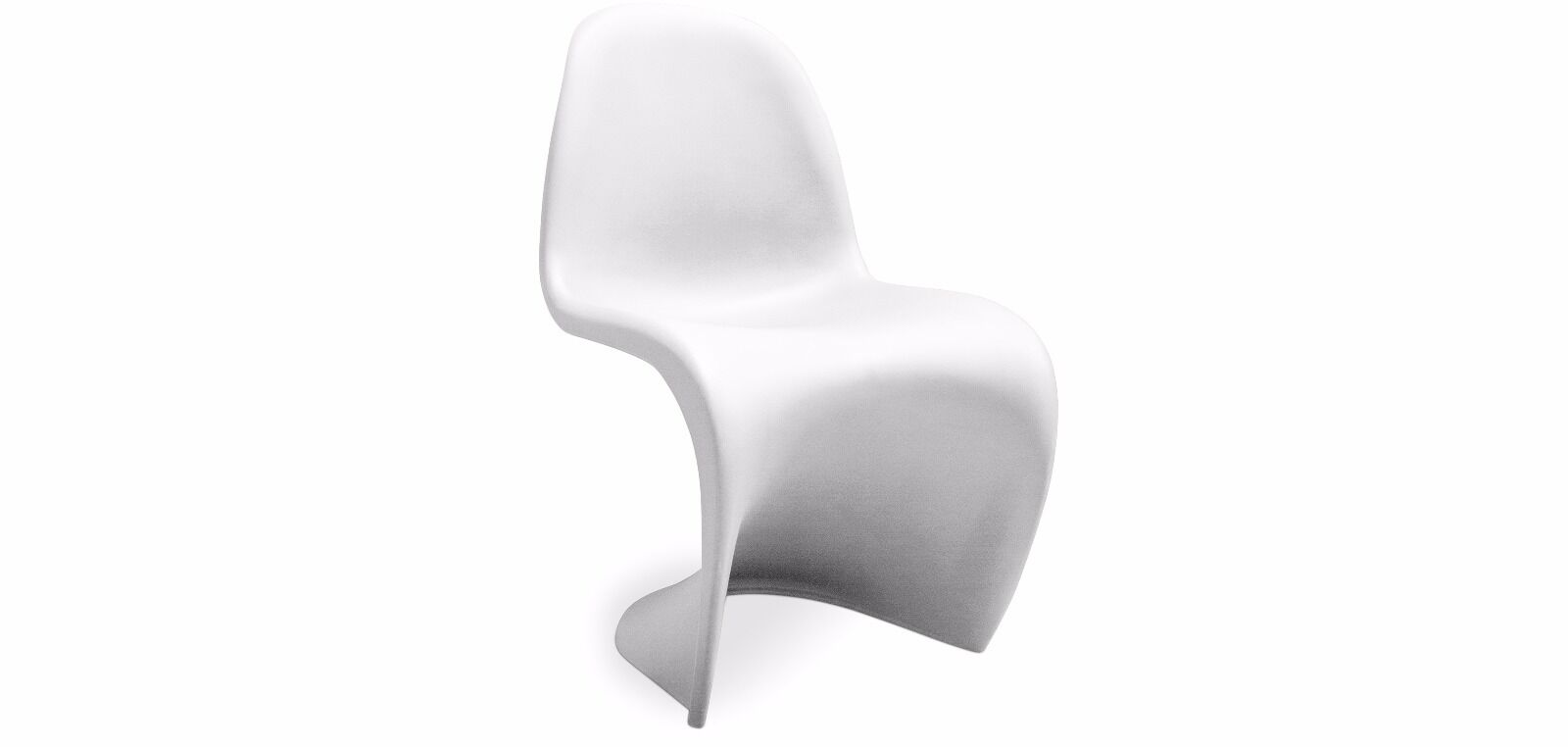 panton chair replika weiss matt kunststoff stuhl design neu eur 70 00 picclick de. Black Bedroom Furniture Sets. Home Design Ideas