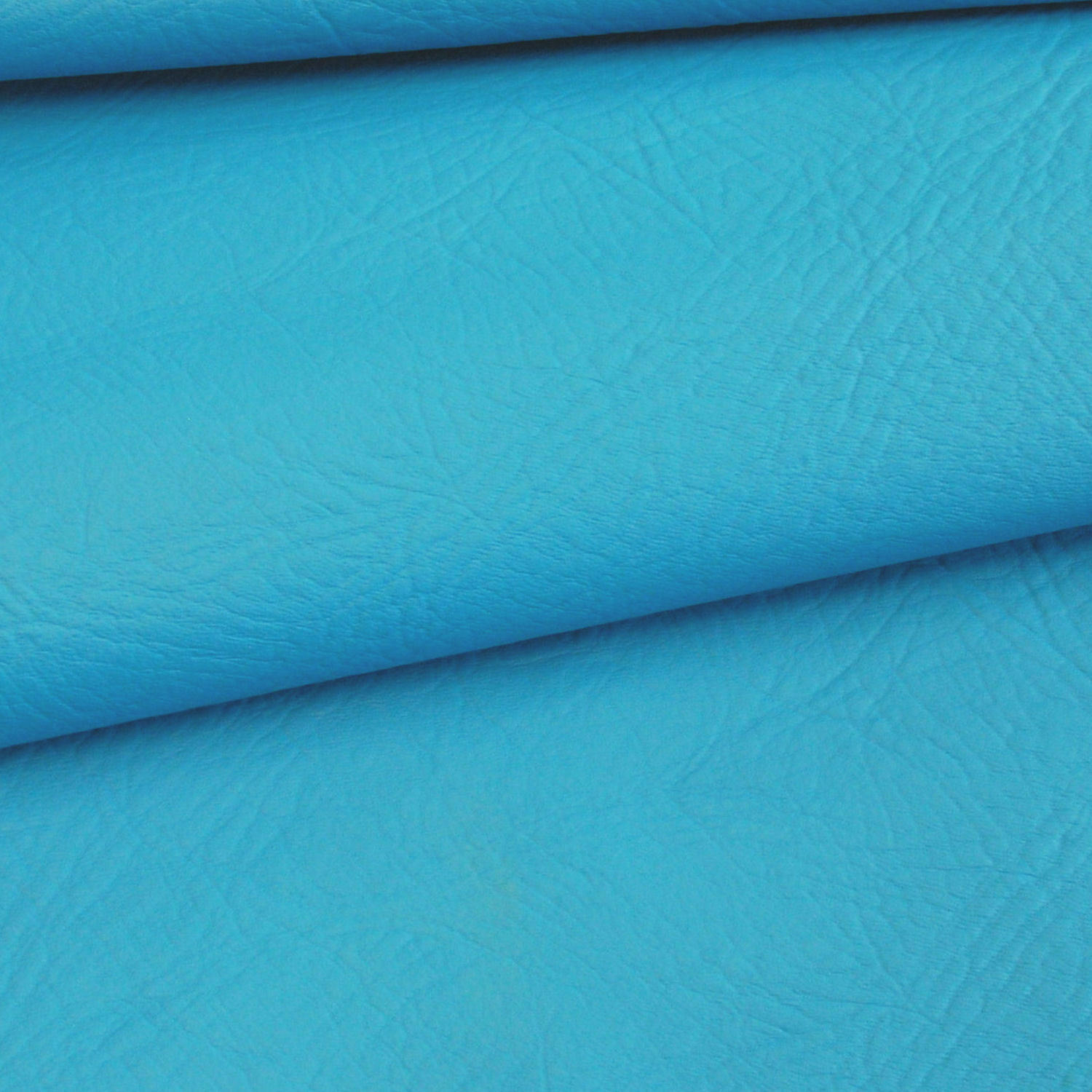 Bright Blue Synthetic Leather Fabric For Furniture Auto Upholstery By Metre Aud