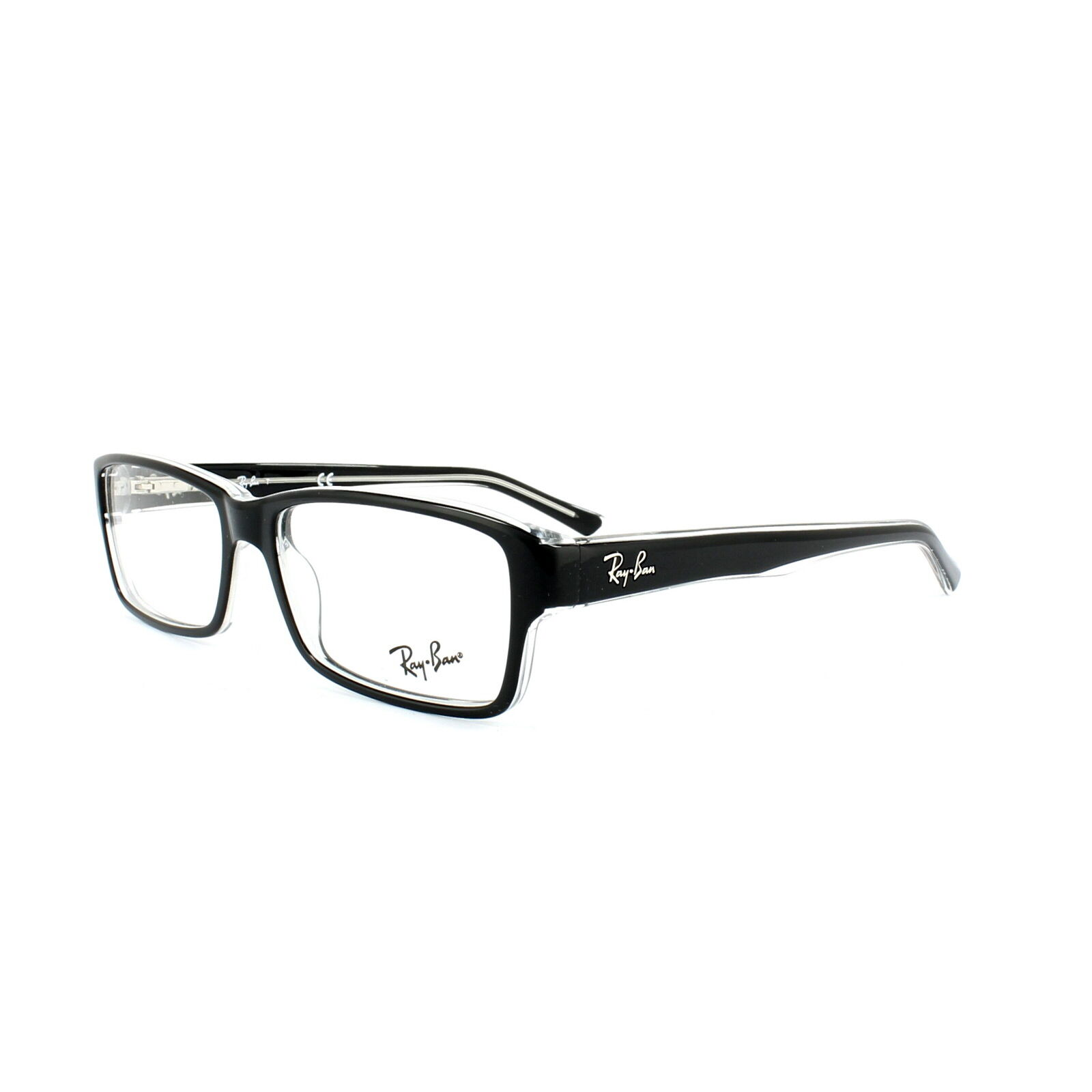 Ray Ban Glasses Frames Ireland : Ray-Ban Glasses Frames 5169 2034 Top Black On Transparent ...