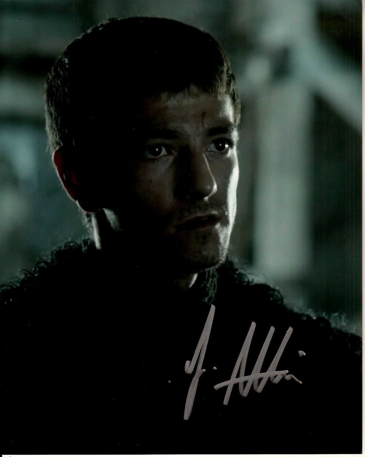 JOSEF ALTIN hand-signed GAME OF THRONES 8x10 uacc rd coa ...