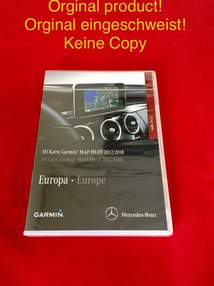 neu letzte version mercedes v9 0 garmin map pilot sd. Black Bedroom Furniture Sets. Home Design Ideas