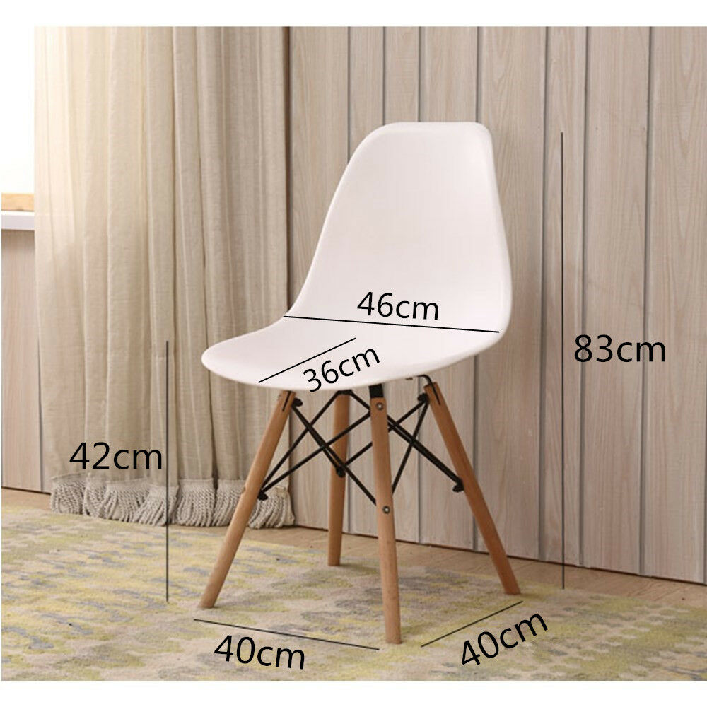 wooden chair retro lounge dining room set table chair home