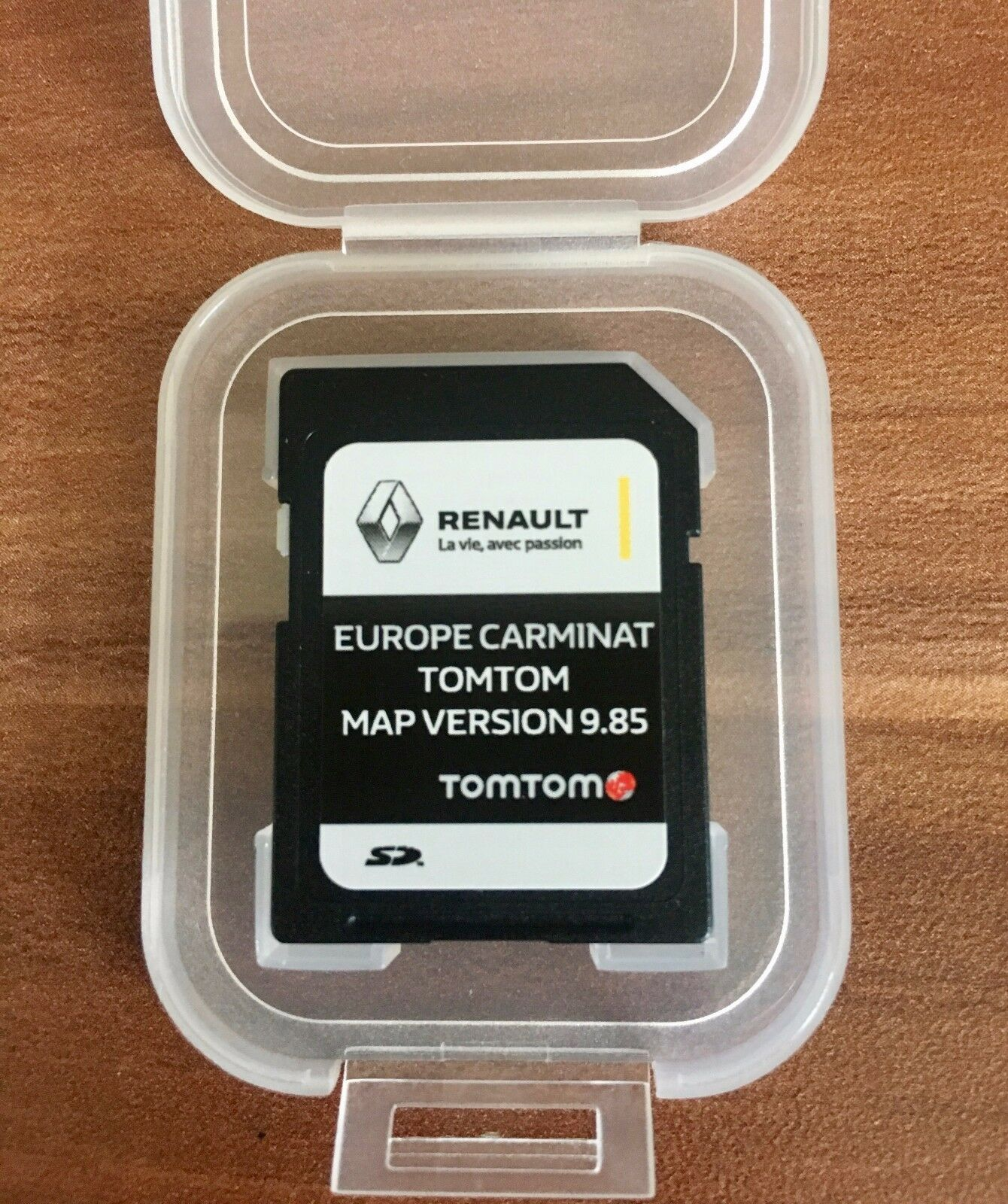 renault carminat tomtom sd card navigation map 2017 2018 satnav eur 39 88 picclick fr. Black Bedroom Furniture Sets. Home Design Ideas