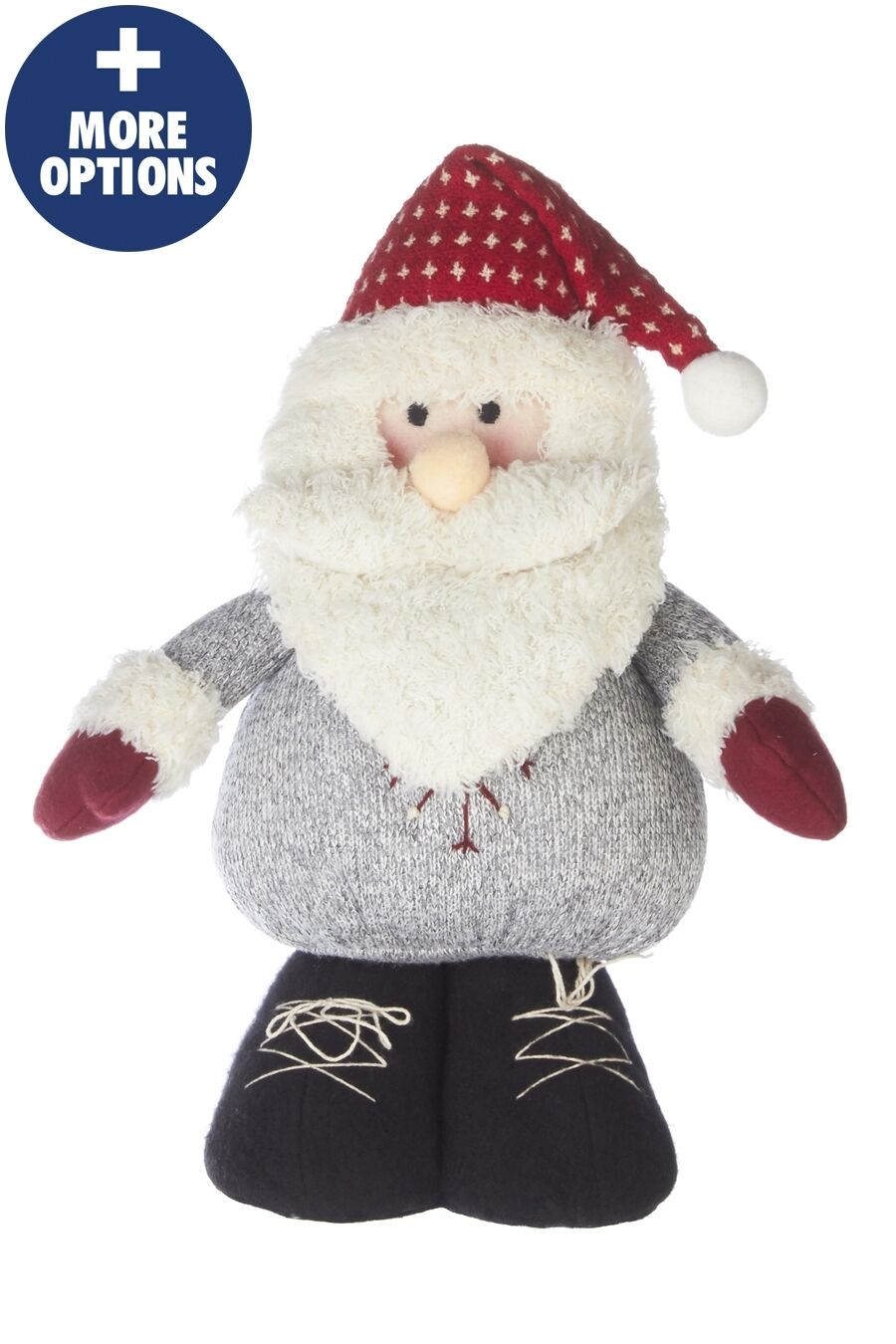 free standing snowman santa figure teddy father christmas decoration 1 of 1 see more