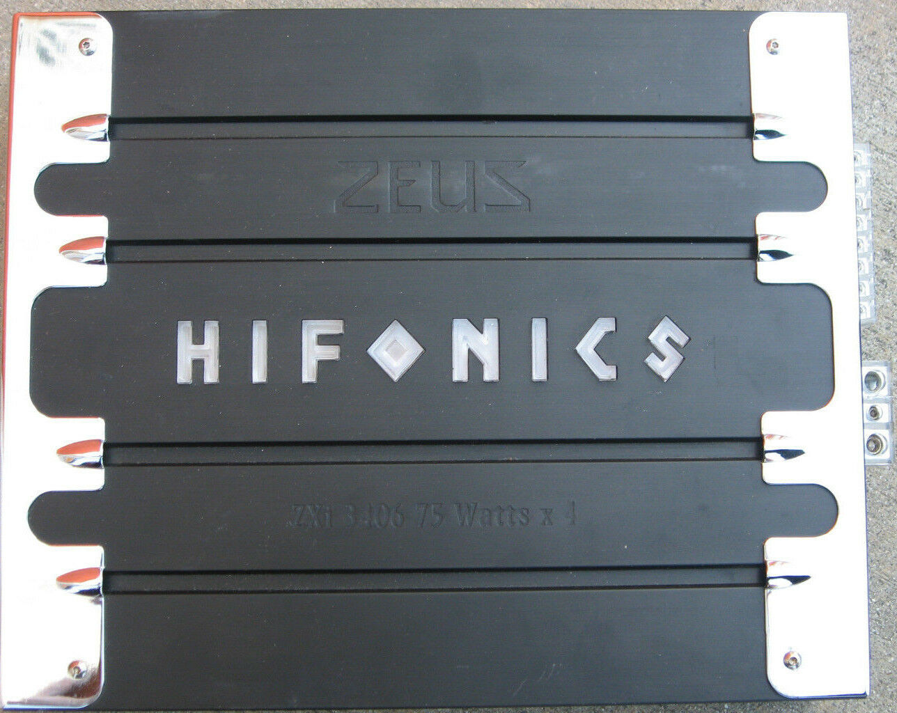 Hifonics Zeus Zxi 3406 Car Amplifier 9999 Picclick Amp Wiring Diagram 1 Of 1only Available