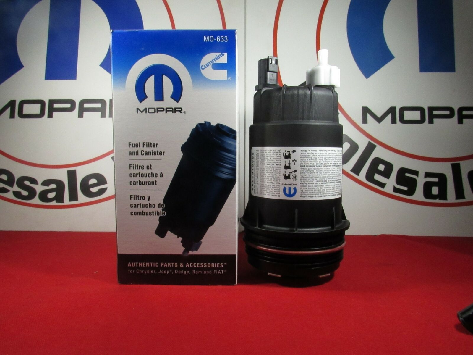 6 7l Cummins Fuel Filter Location Wiring Library Diesel Housing Dodge Ram 67l Canister Assembly Oem Mopar 1 Of 5free