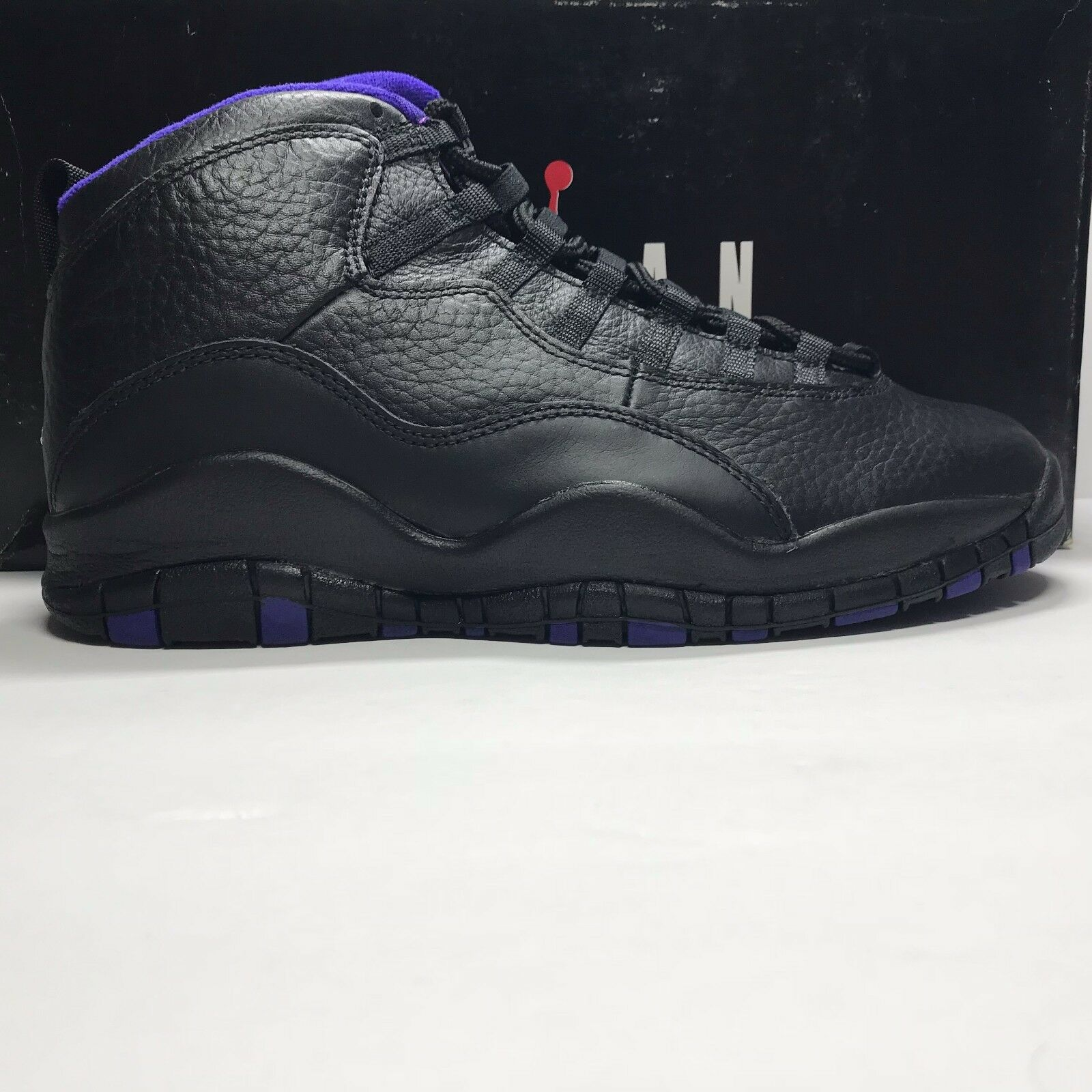 c7ceceef0716 DS OG Nike Air Jordan 10 X City Pack Sacramento Kings Size 8.5 black purple  1995 1 of 8Only 1 available ...