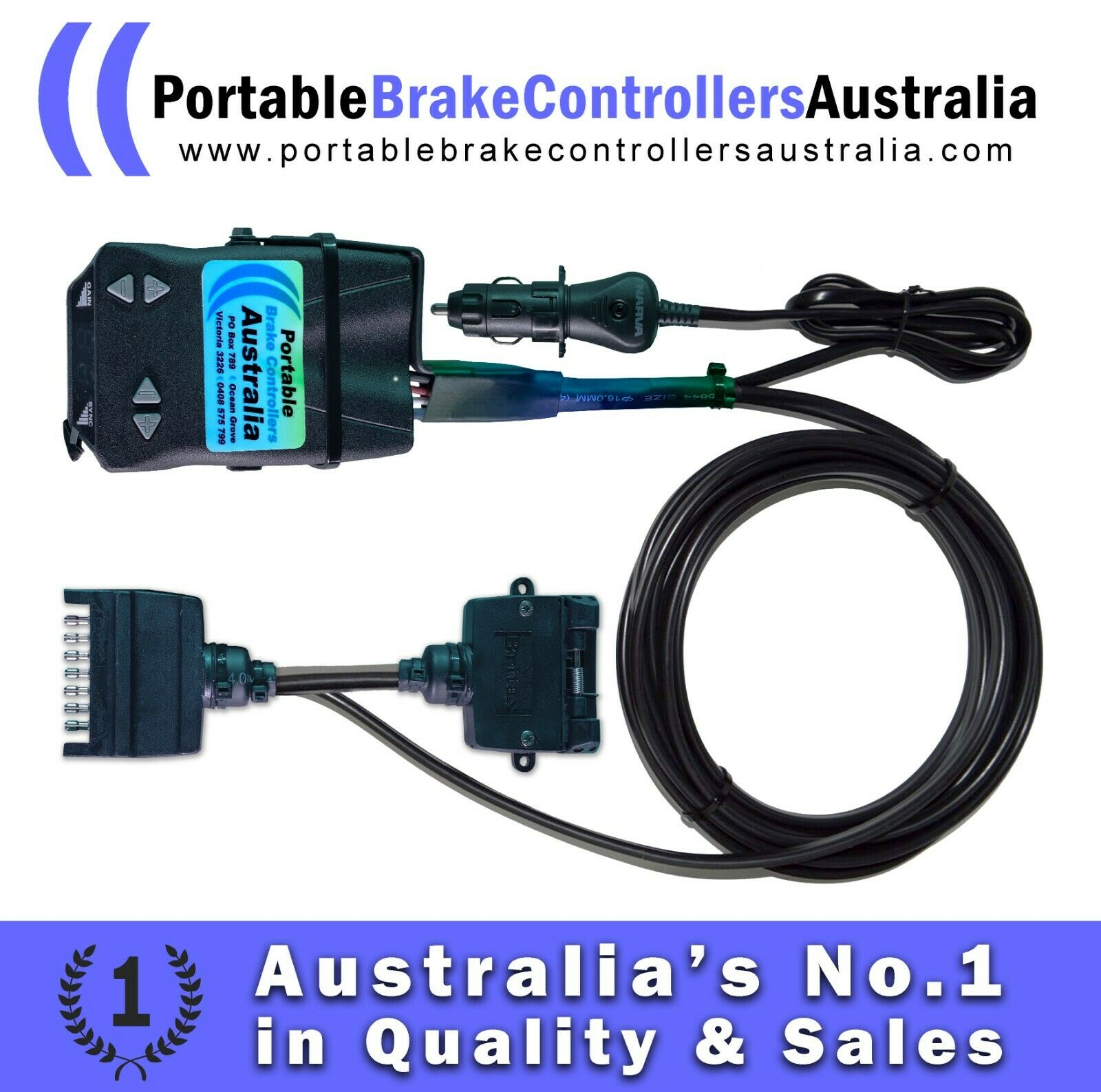 Portable Electric Brake Controller 28900 Picclick Au Controllers 1 Of 12free Shipping