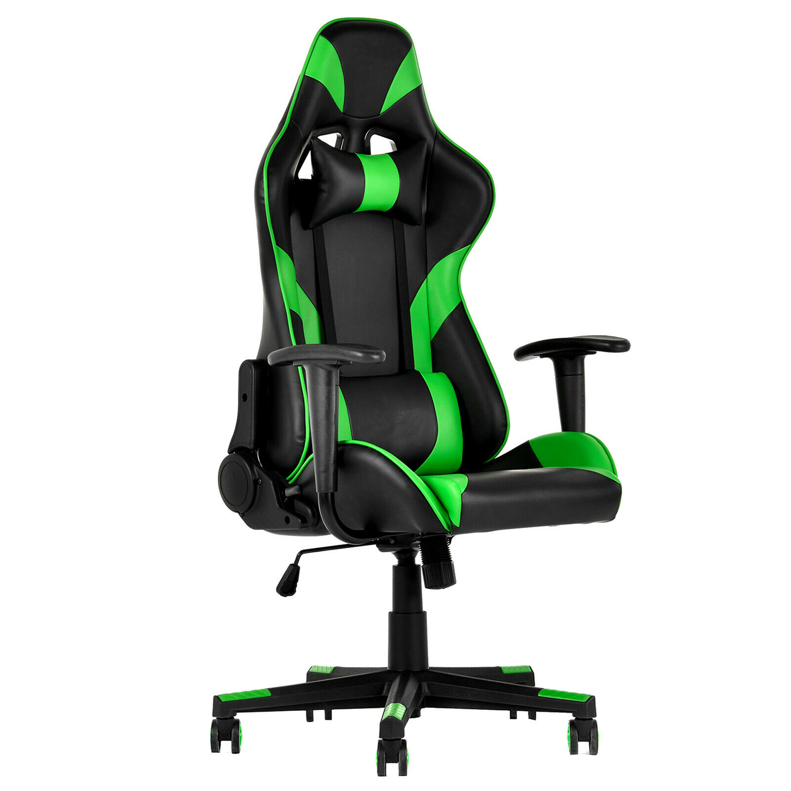 Adjustable Reliner Racing Gaming Office Chair Leather High Back Computer  Chair 1 Of 10FREE Shipping See More