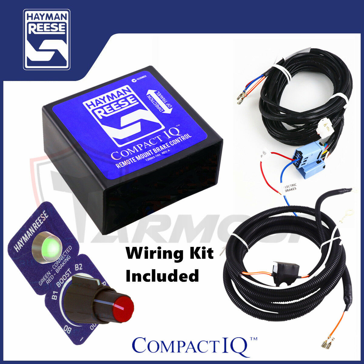 Hayman Reese Electric Brake Controller Compact Iq Wiring Harness Brakes Wire Loom 1 Of 7only 0 Available