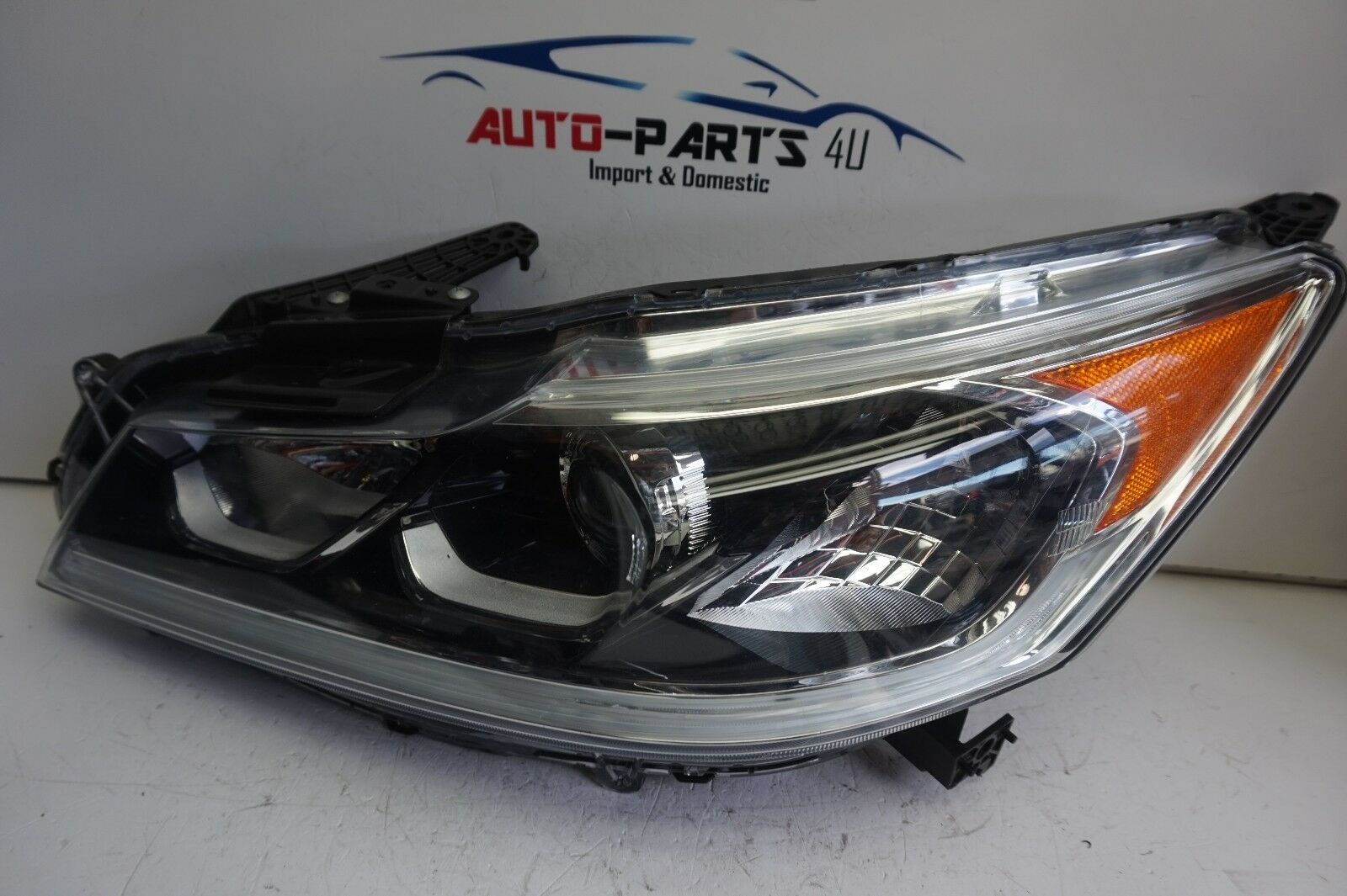 Tested 2016 2017 HONDA ACCORD SEDAN LEFT HALOGEN LED HEADLIGHT OEM 16 17 1  Of 11Only 4 Available See More
