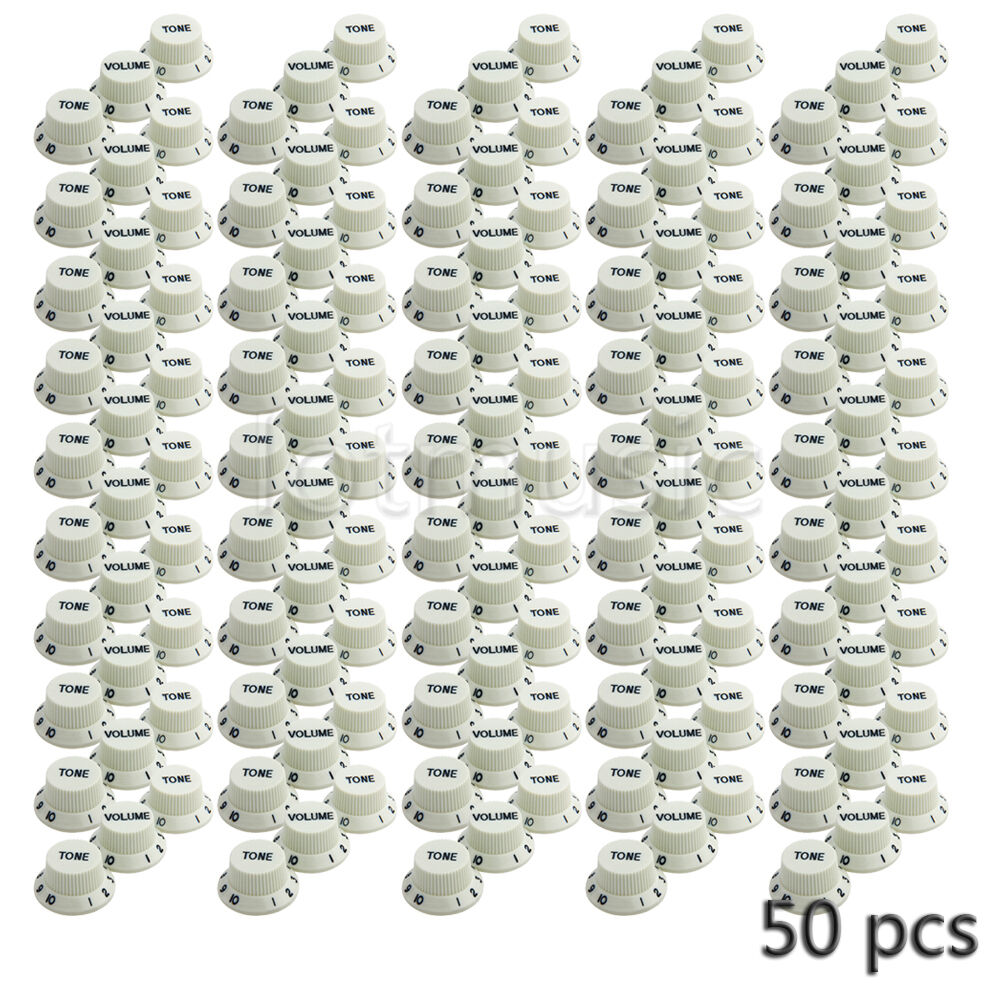 50 Pcs Guitar Knobs V Volume T Tone Fits Strat Mint Green Fender Wiring Harness Pickup 1v2t 5 Way Switch 500k Pots Ebay 1 Of 4only Available