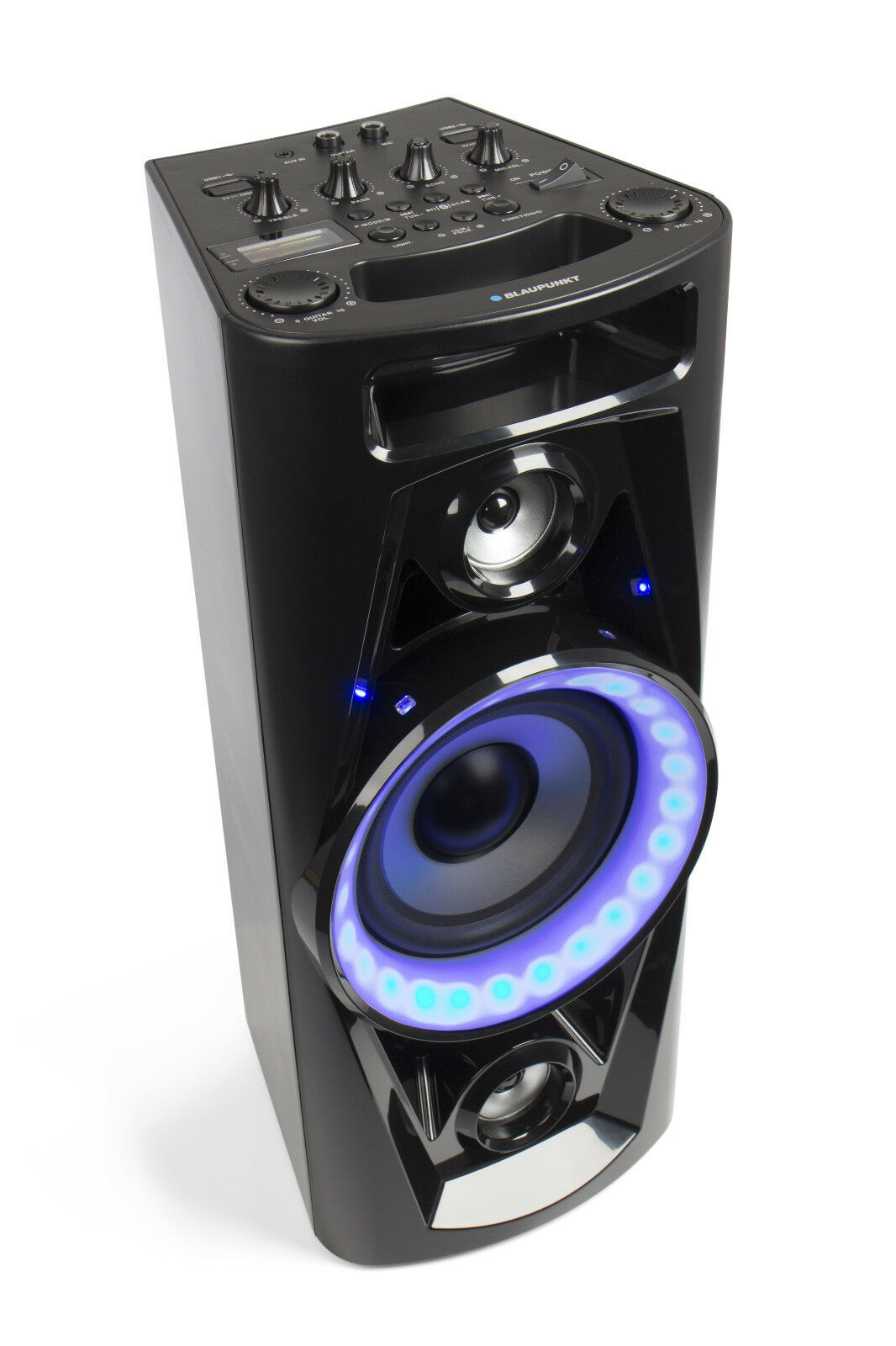 blaupunkt bluetooth lautsprecher party speaker box psk1652 radio pll usb mp3 aux eur 129 95. Black Bedroom Furniture Sets. Home Design Ideas