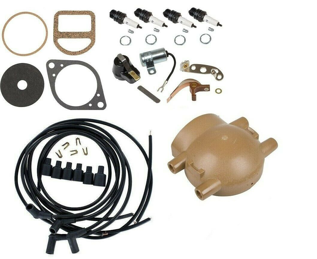 Complete Ignition Tune Up Kit Ford 9n 2n 8n Tractors Front Mount Tractor Parts Wiring Distributor 1 Of 3free Shipping