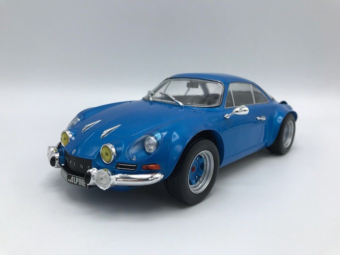 renault alpine a 110 blau 1973 1 18 ixo new. Black Bedroom Furniture Sets. Home Design Ideas