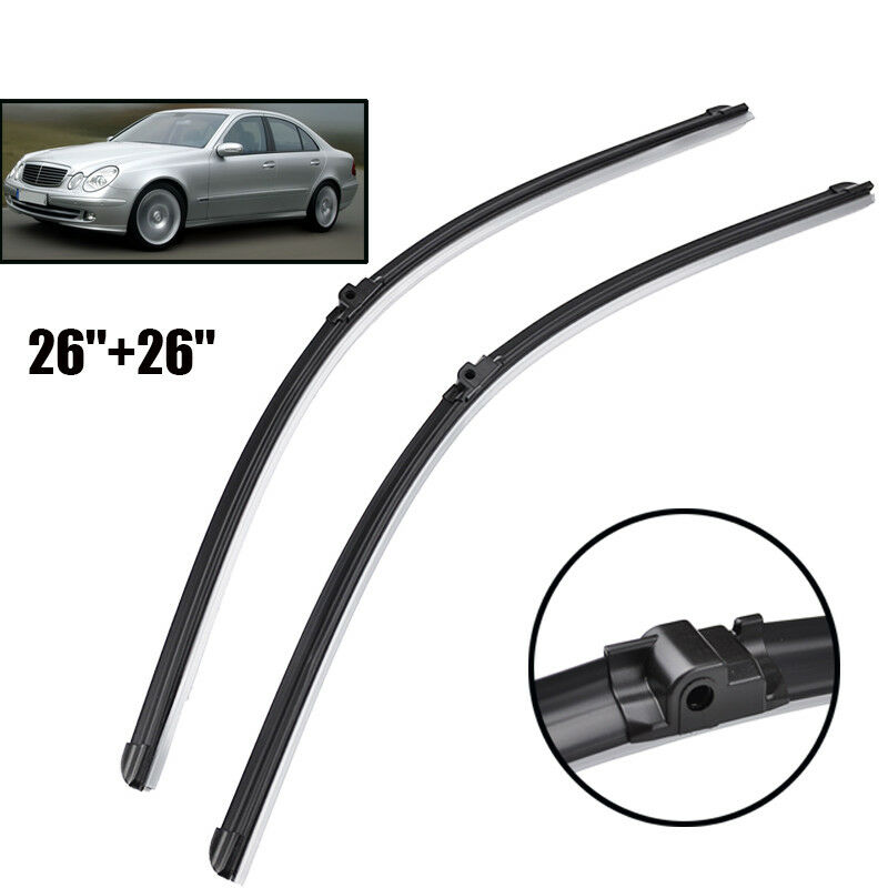 Front window windshield wiper blade fit for mercedes e for Mercedes benz windshield wiper blades