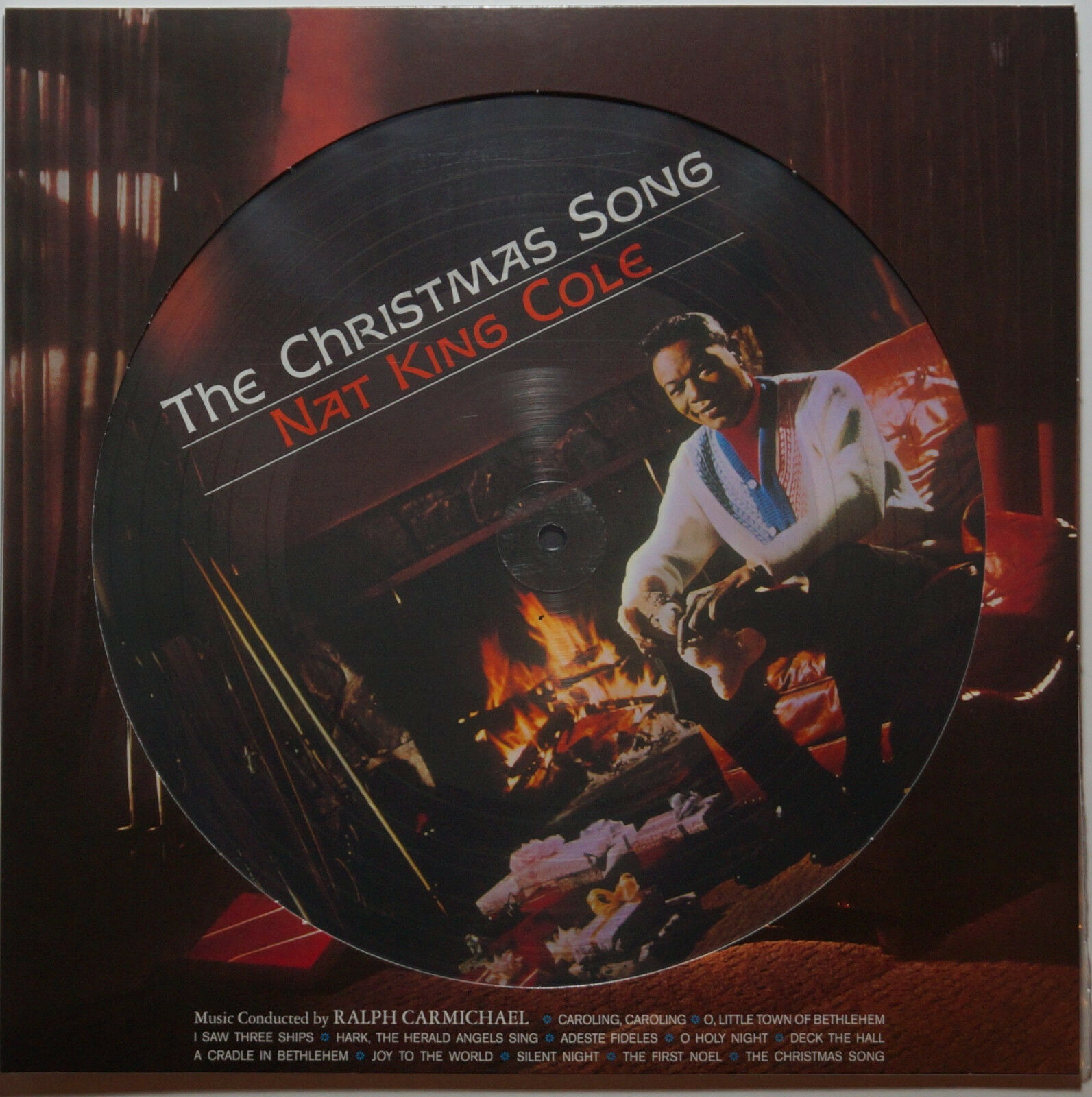 NAT KING COLE - The Christmas Song LP limited 180g picture disc ...
