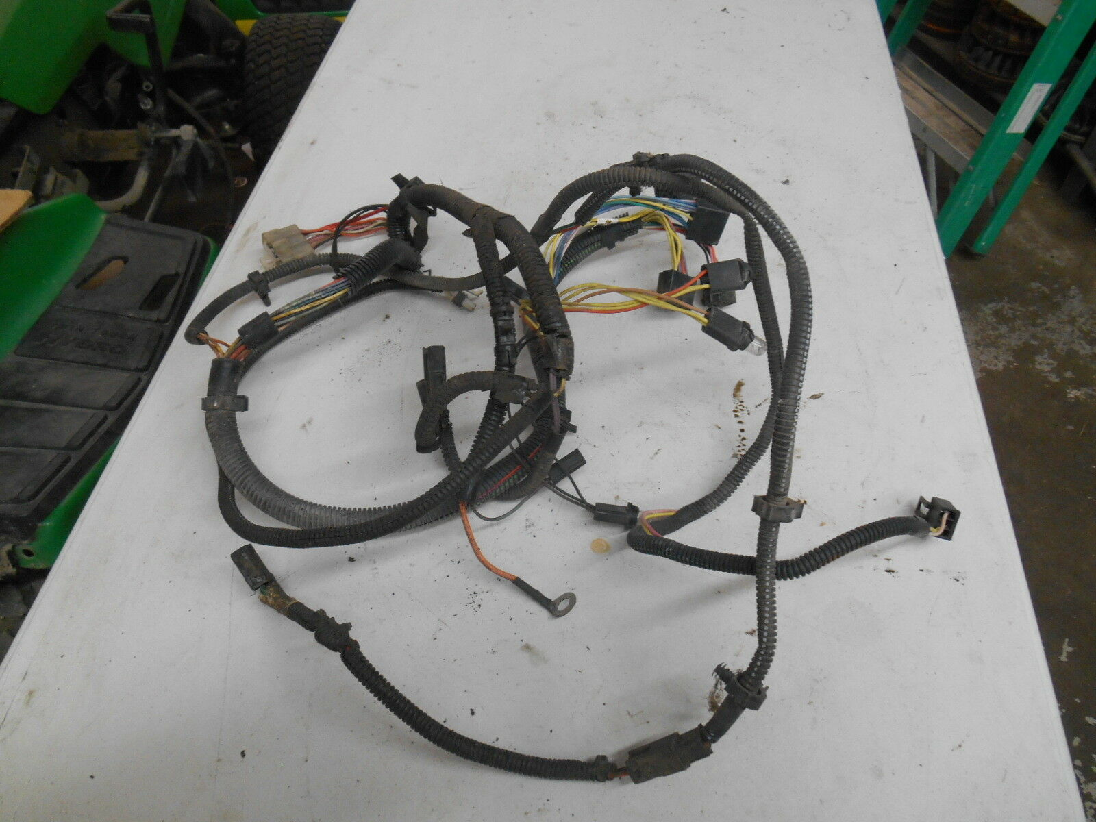 John Deere Gt235 Lawn Garden Tractor Wirring Harness Am123240 La130 Wiring 1 Of 1only Available