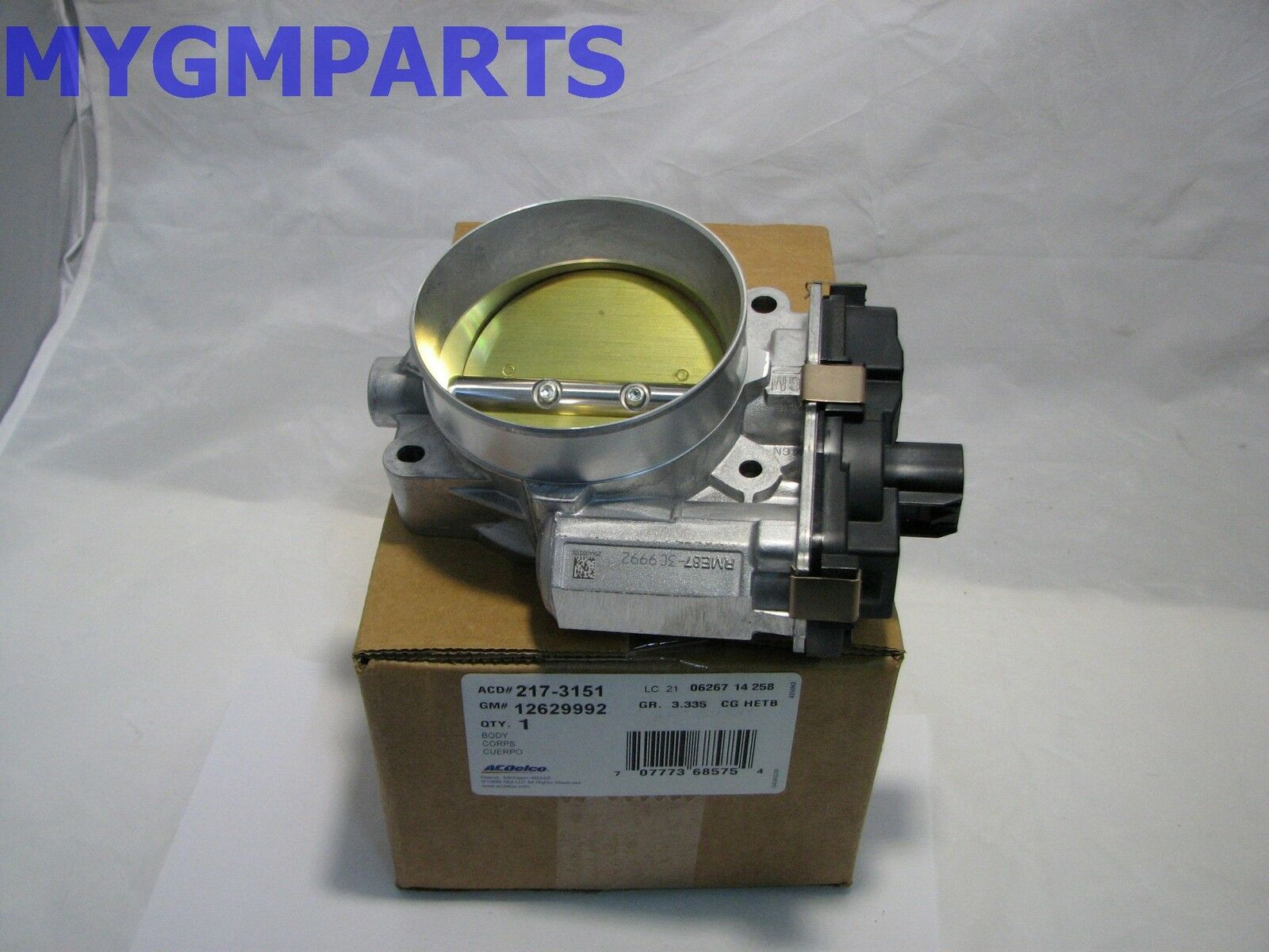 629 Lsa Fly By Wire Throttle Body New Oem Gm 12629992 21422 2010 Cts V Wiring Diagram 1 Of 2only 2 Available