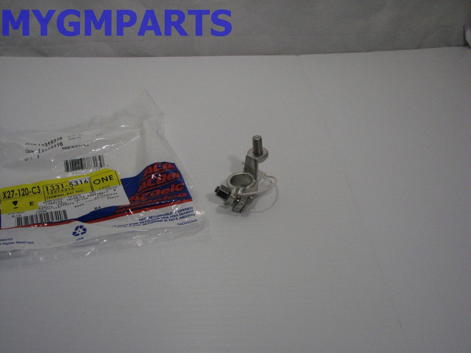 Buick Verano Positive Battery Cable Terminal In Fuse Block 2012-2017  13315316 1 of 3Only 1 available ...