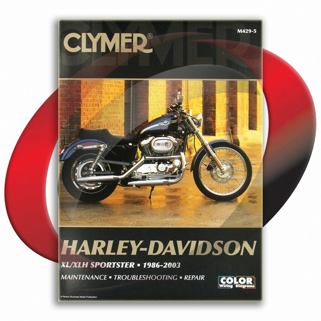 1996 2003 Harley Davidson Sportster Xl1200 C Custom Repair Manual 1986 883 Wiring Diagram 1 Of 1free Shipping