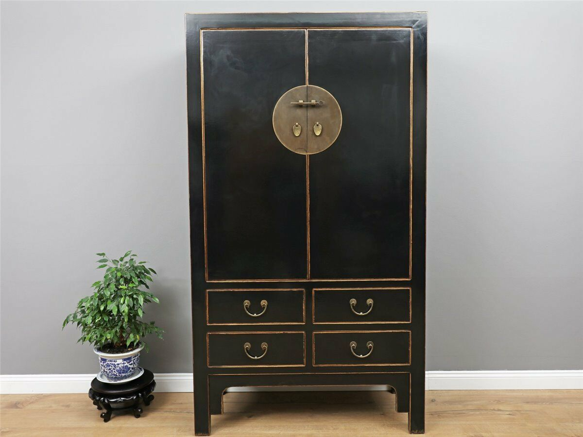 chinesischer schrank hochzeitsschrank kleiderschrank wohnzimmer china y700 eur. Black Bedroom Furniture Sets. Home Design Ideas