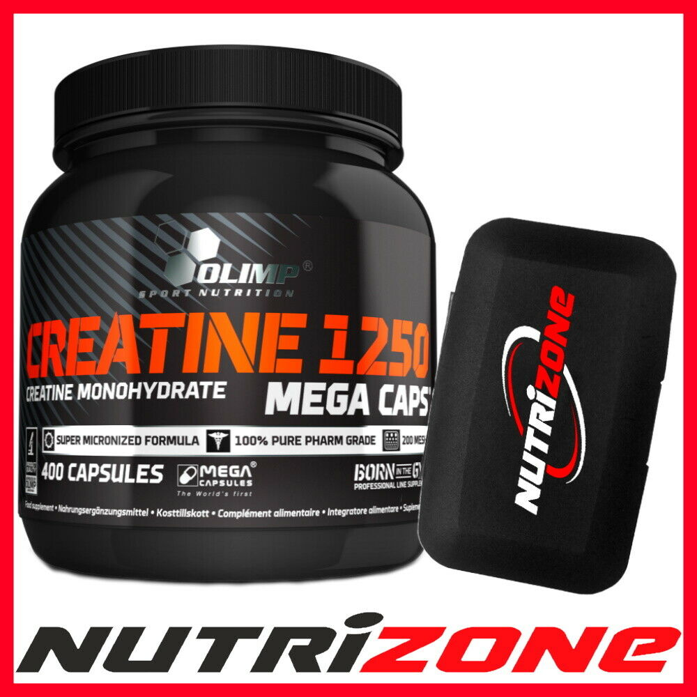 Olimp Creatine Monohydrate 1250mg Strength Power Booster 400 Mega 1000gr 1 Sur 1seulement 5 Disponibles
