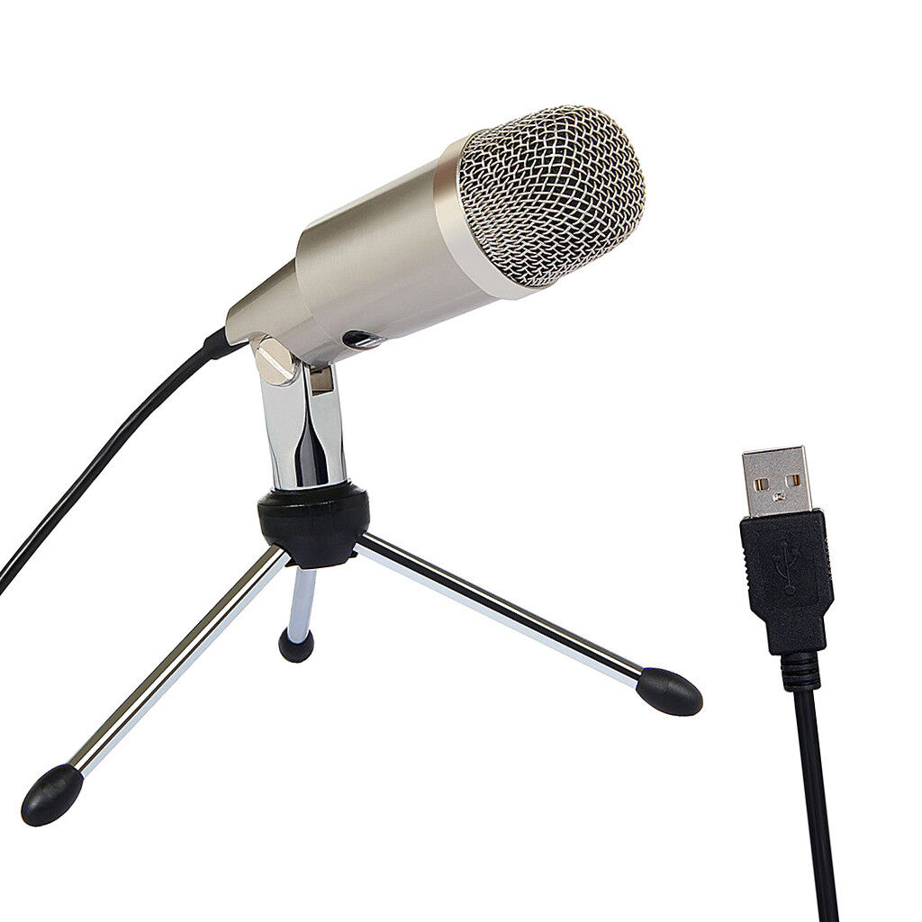 Usb Condenser Microphone Plugplay Home Studio Mic For Pc Laptop Gaming Recording Bm700 Komputer With Stand 1 Of 9free Shipping