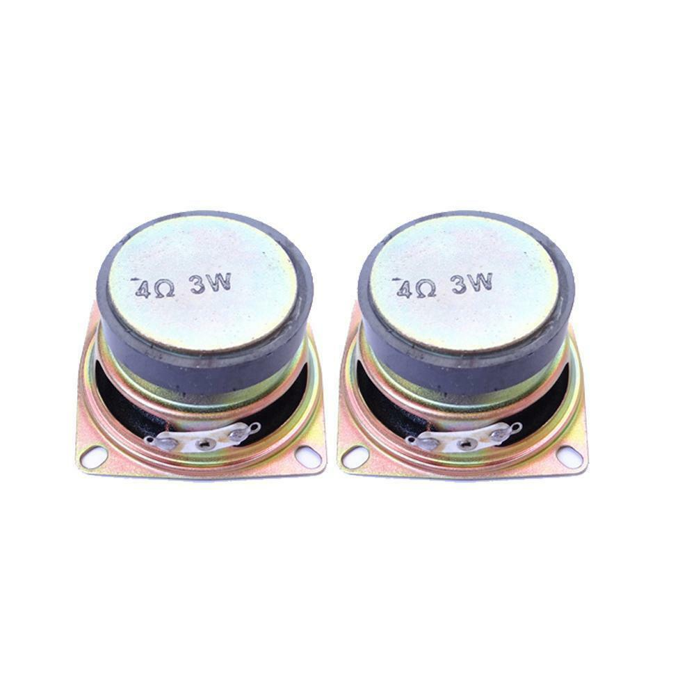 1 of 12Only 5 available 2Pcs 52mm 2 inch 4Ohm 3W Range Audio Speaker Stereo Woofer Loudspeaker Hot&L