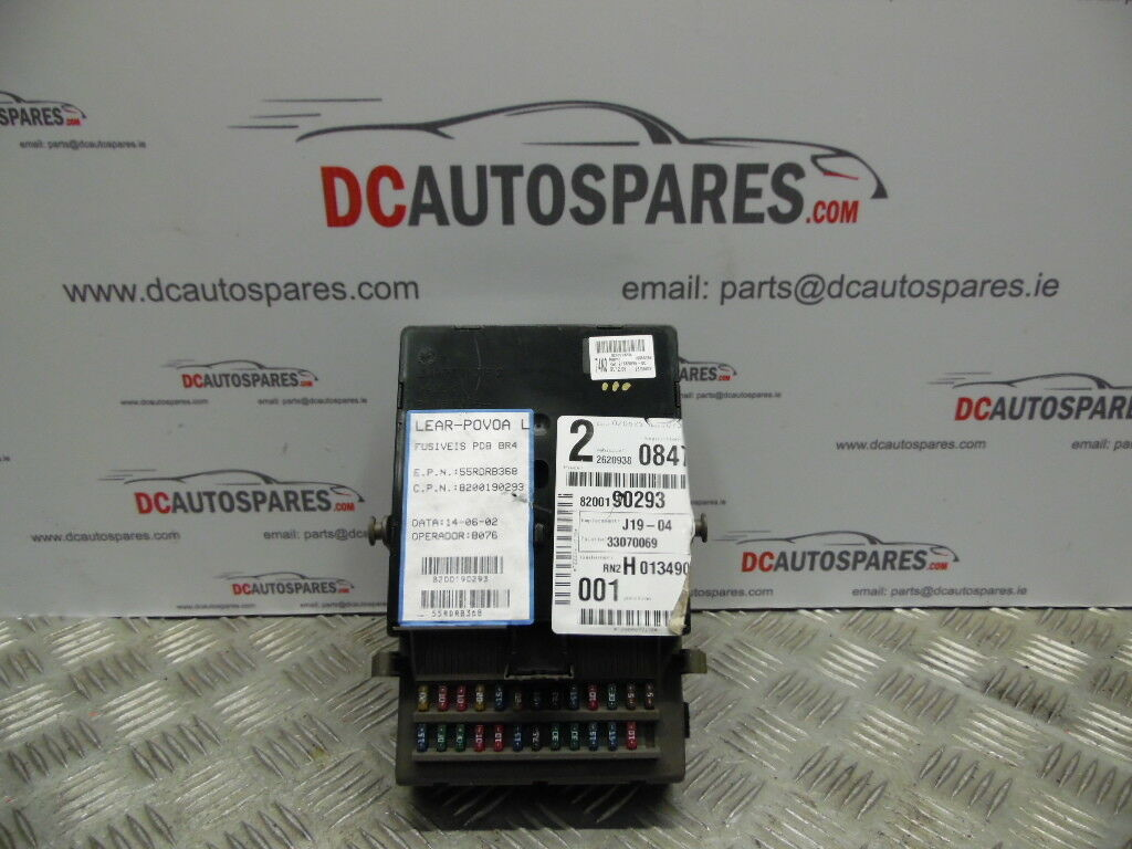 Genuine 2003 Renault Laguna Mk2 19 Dci Fuse Box 21653295 1 2700 Location Of 5only Available