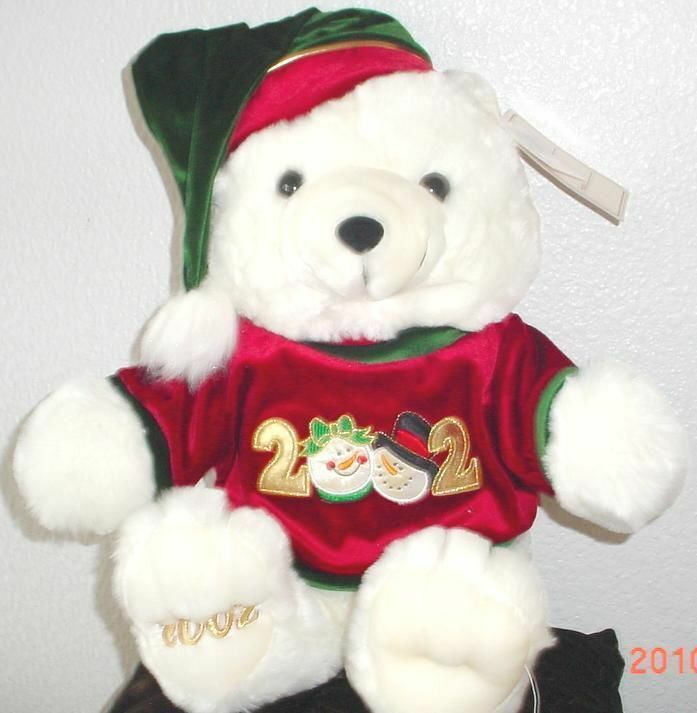 2002 KMART CHRISTMAS TEDDY BEAR Boy 20\