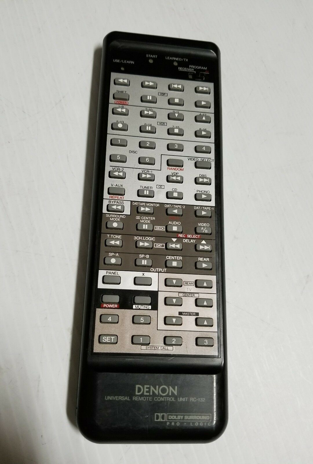 Denon RC-132 Audio/Video Receiver Remote Control AVR-1010 1 of 8Only 1  available See More