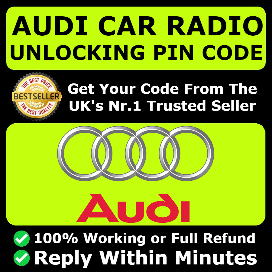 AUDI RADIO CODE Unlock Code For Radio RnsE Navigation All Models - Audi rns e